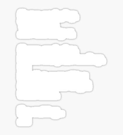 Reichenbach Text 1 Sticker