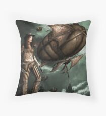 Black Ships Ate the Sky Throw Pillow