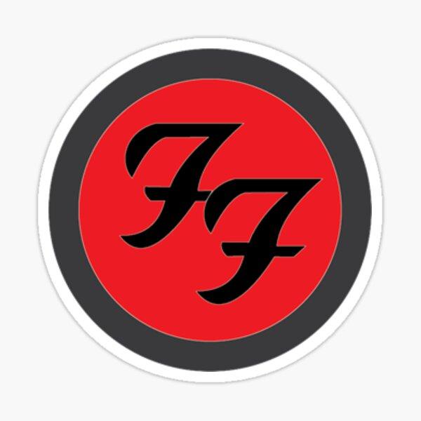 Foo Fighters Logo Sticker