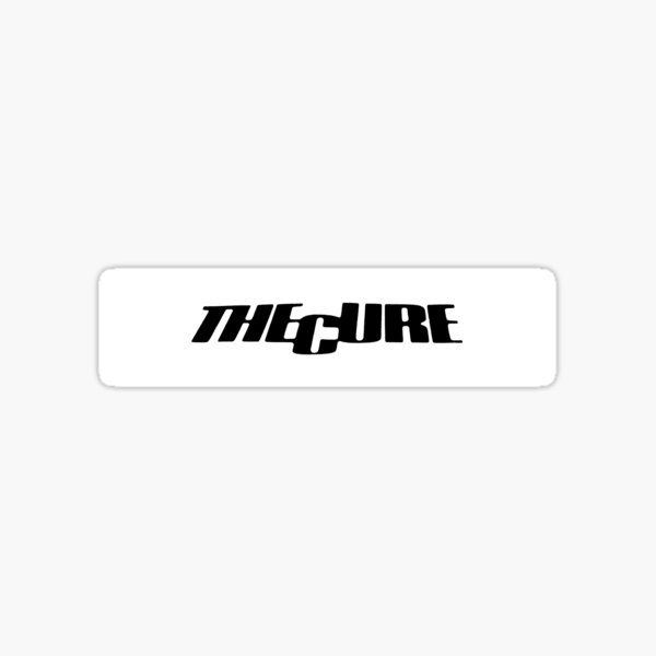The Cure Logo Sticker