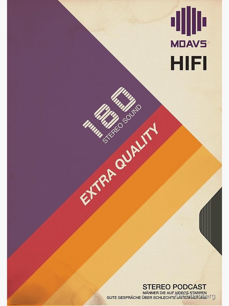 VHS Videokassette Hülle Retro von KaiSternberg
