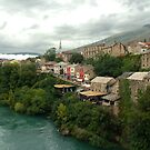 Mostar - Bosnia Herzegovina by Arie Koene