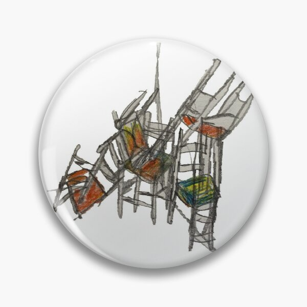 Crazy Stacking Chairs Pin