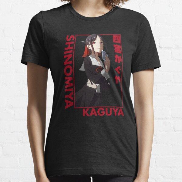 Kaguya Shinomiya - El amor es la guerra - Retrato Camiseta esencial