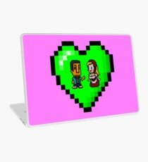 Love in 8-bit: Abed and Hilda (style B) Laptop Skin