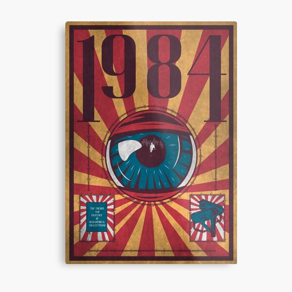 Dystopia Metal Print