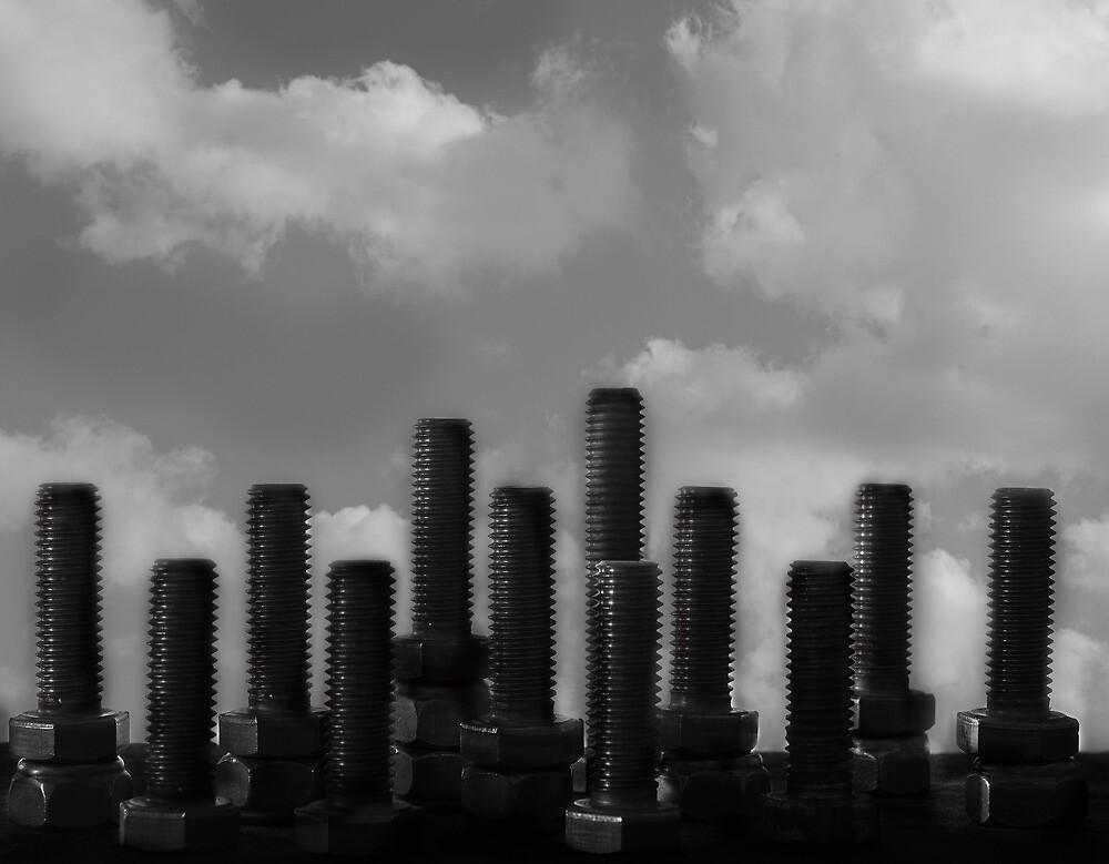 Blue Monday Skyline by Paul Pasco
