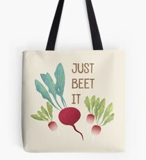 Just Beet It! Tote Bag