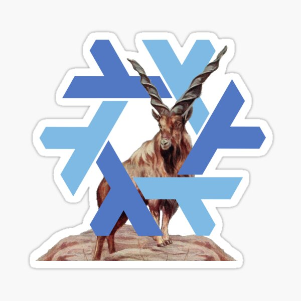 Nixos 20.03 Markhor Sticker