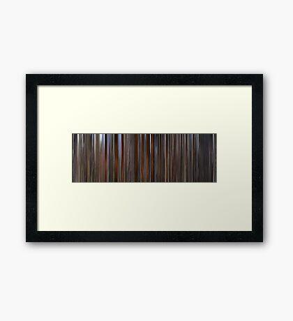 Moviebarcode: Barry Lyndon (1975) Framed Print