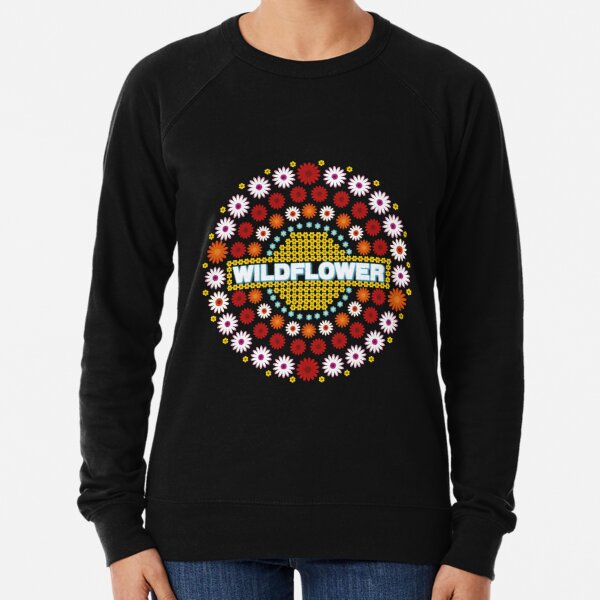 Wildflower 5sos Lightweight Sweatshirt
