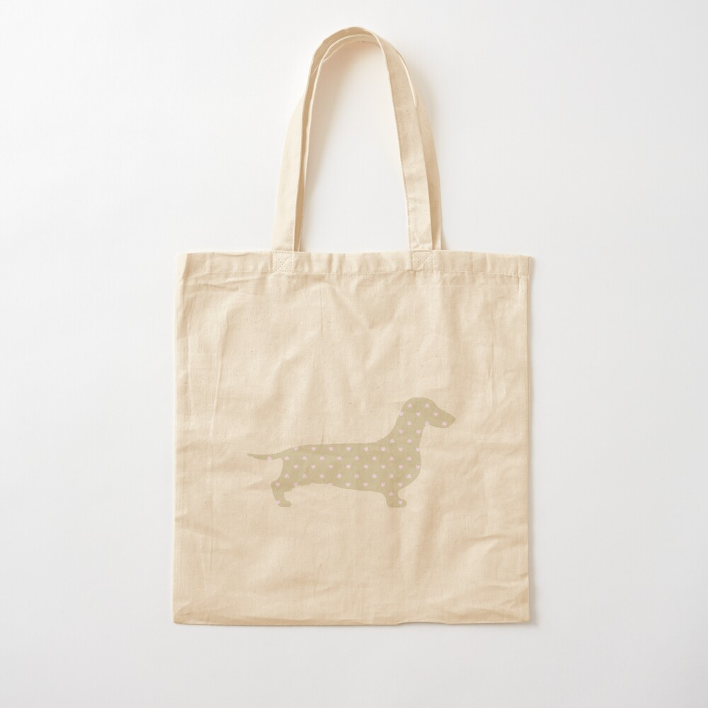 Longhaired Dachshund Love Tote