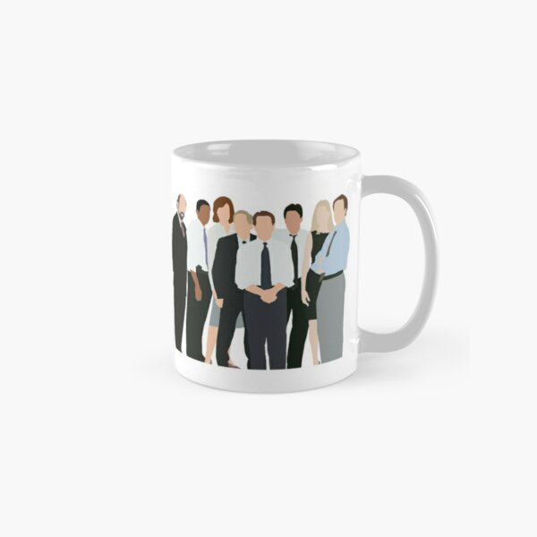 The West Wing Characters Silhouette Classic Mug
