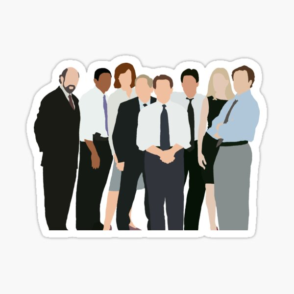 The West Wing Characters Silhouette Sticker
