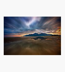 Murlough Bay Sunset Photographic Print