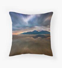 Murlough Bay Sunset Throw Pillow
