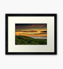 Wollongong City Beach Framed Print