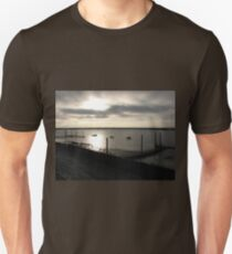 The River Crouch at Sunrise in December Unisex T-Shirt
