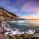 Sea Cliff Bridge at Dawn by Rod Kashubin