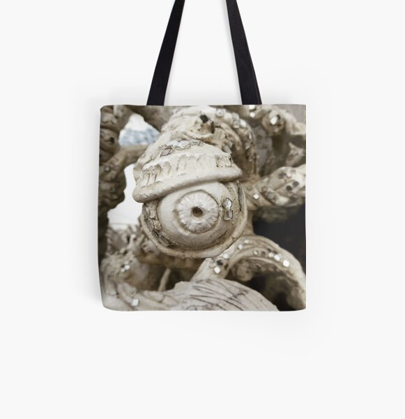 All Seeing Eye from the White Temple Chang Mai All Over Print Tote Bag