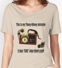 Timey-Wimey Detector Women's Relaxed Fit T-Shirt