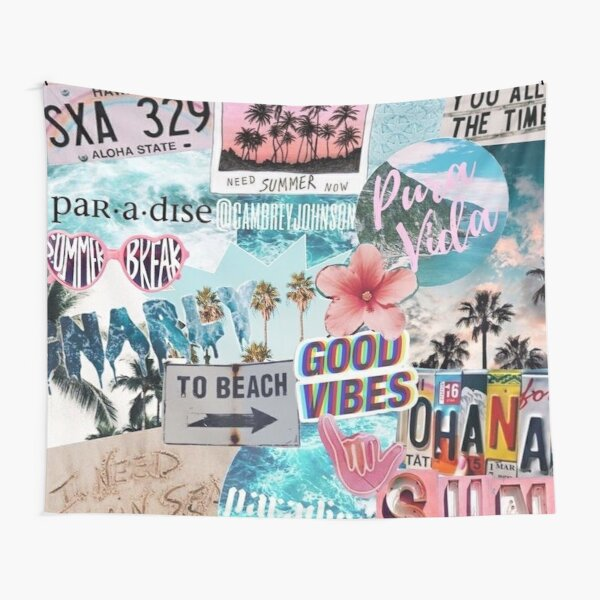 Cool collage Tapestry