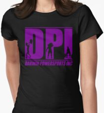 DPI Logo - Purple Womens Fitted T-Shirt