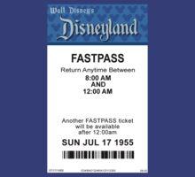 Disneyland's Opening Day Fastpass