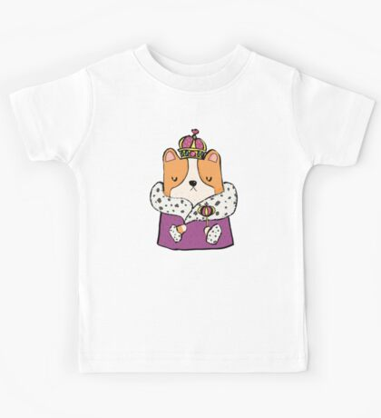 Queen Corgi Kids Clothes