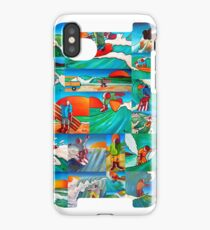 Surfing iPhone Case