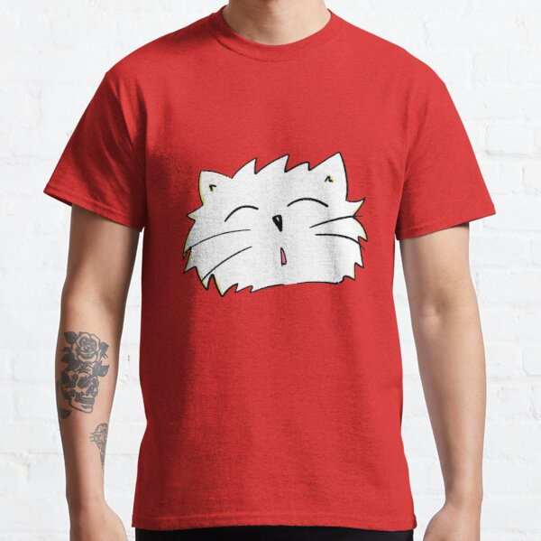 Paws the White Cat Classic T-Shirt