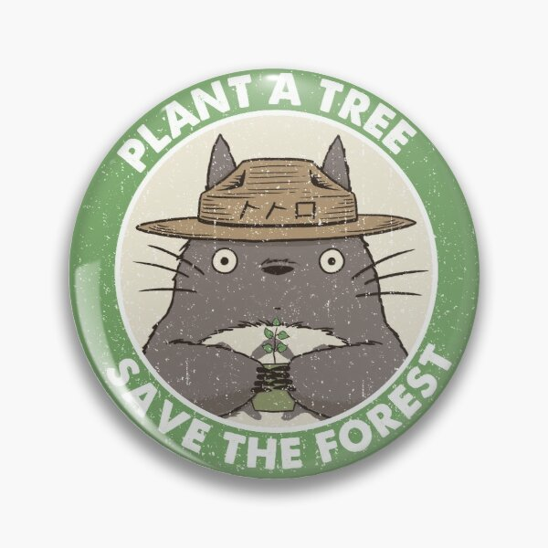Save the Forest Pin