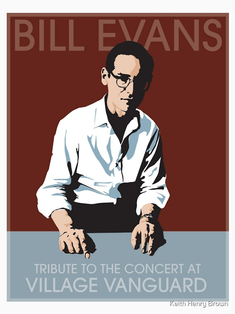 TShirtGifter presents: Bill Evans T-Shirt | Unisex T-Shirt