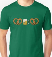Pretzel Dog & Beer T-Shirt