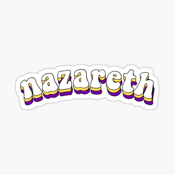 groovy nazareth Sticker