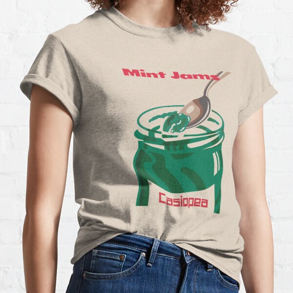 Casiopea Mint Jams Classic T-Shirt
