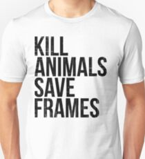 Kill Animals - Save Frames T-Shirt