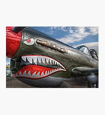 Curtiss P-40 Kittyhawk Photographic Print