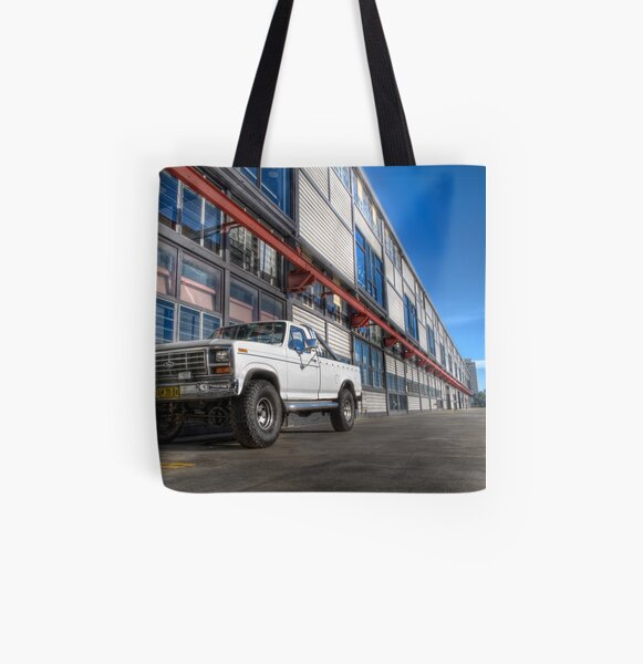 Ford Truck at Walsh Bay All Over Print Tote Bag