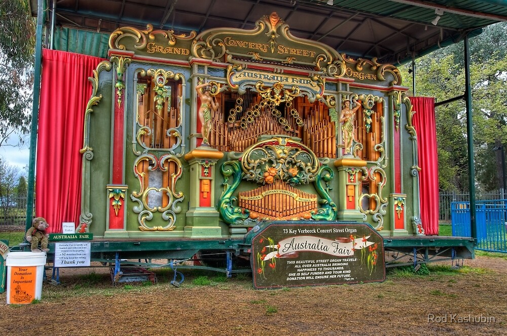 Australia Fair Street Organ by Rod Kashubin