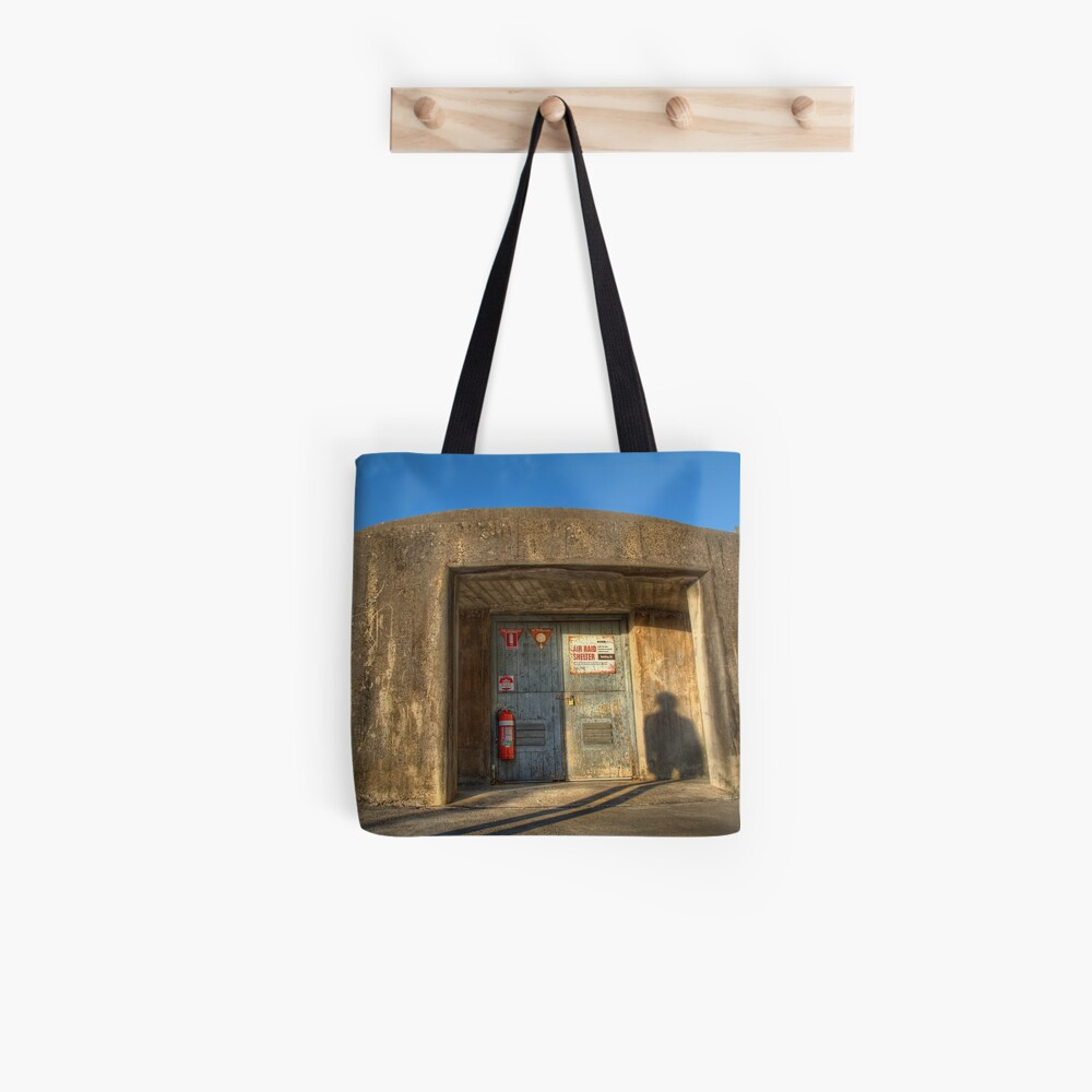 The Air Raid Shelter Tote Bag