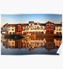 Maryport Harbour 1 Poster