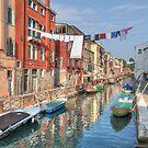 A Canal in Venice by Rod Kashubin