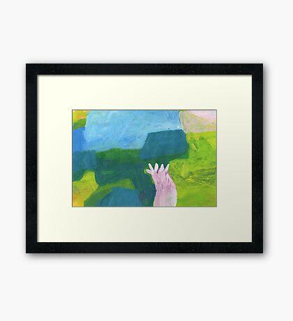 almond tree Framed Print