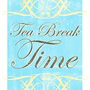 Tea Break Time Poster By Iamsla Redbubble