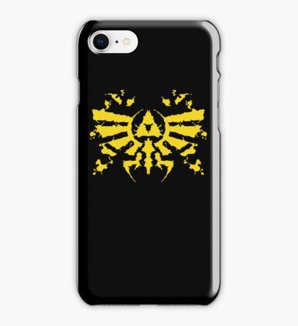 Hyrule Rorschach (gold) iPhone Case/Skin