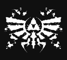 Hyrule Rorschach (white) | Unisex T-Shirt