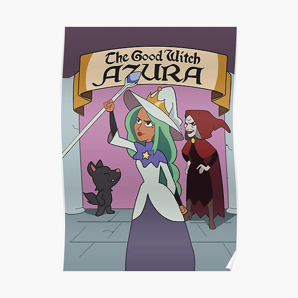 The Good Witch Azura poster - The Owl House Poster