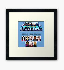 Select Your Player to Journey to the Center of Hawkthorne! Framed Print