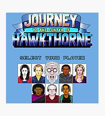 Select Your Player to Journey to the Center of Hawkthorne! Photographic Print